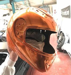 Chrome Helmet