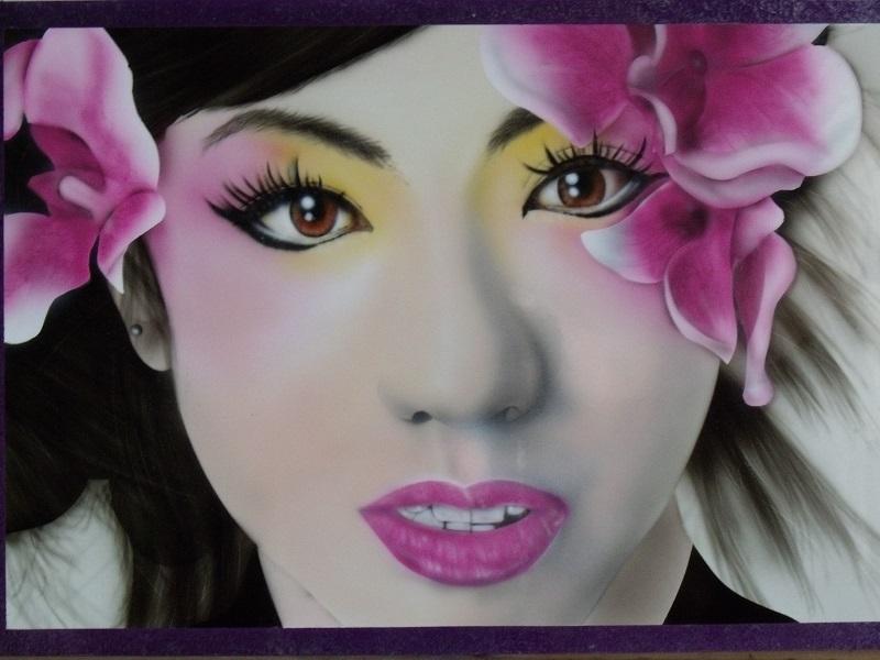 Geisha Girl Artwork