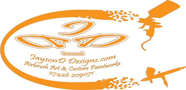 JaysonD Designs Custom Work and Airbrushing