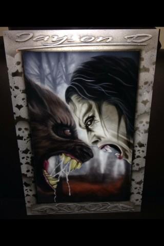 Vampires & Werewolf Art