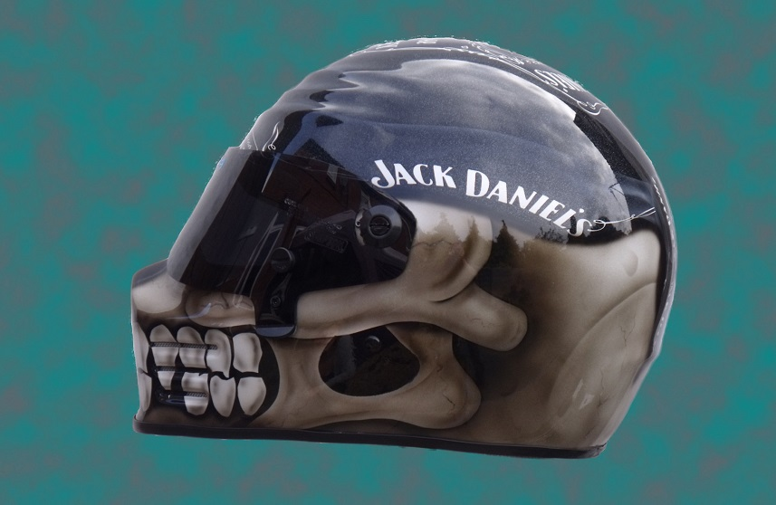 Jack Daniels Helmet